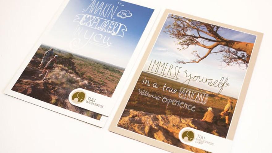 Tuli Wilderness Camp brochure by K&i.