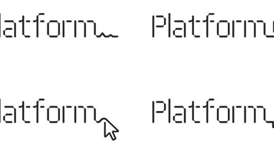 Platform identity, logo by Eddie Opara.