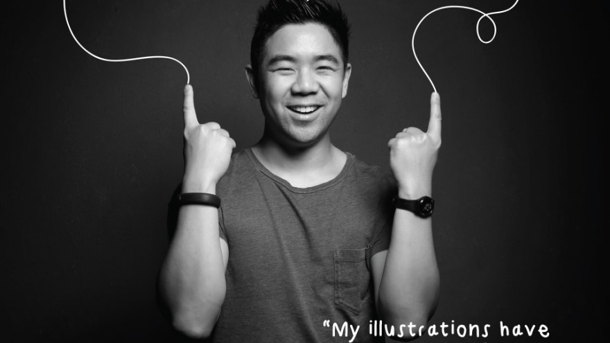 illustrator Daniel Ting Chong