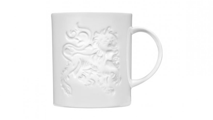 Mug Lion White by Tom Dixon.