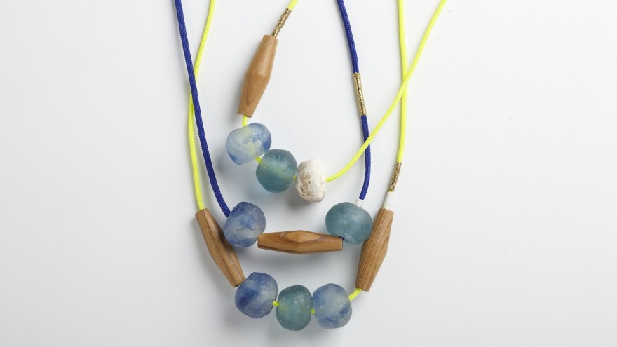 Marble Clusters necklace from Pichulik's 2014 Spring/Summer Collection.
