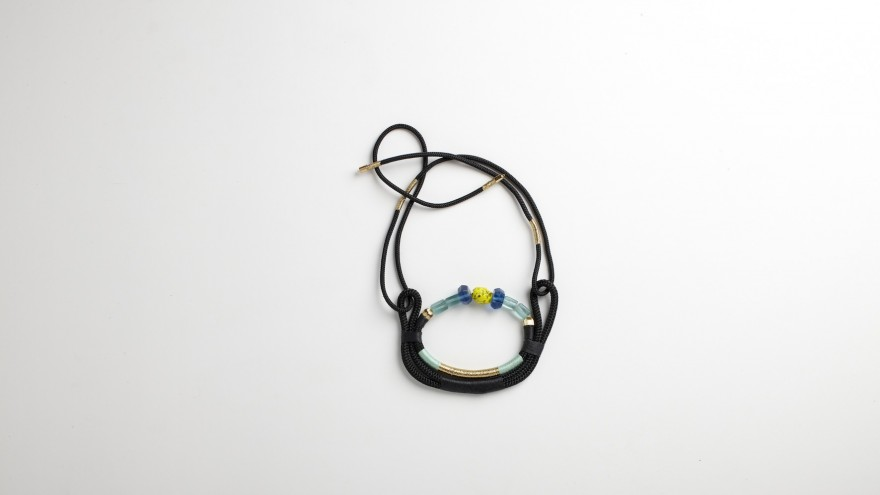 The Moon necklace from Pichulik's 2014 Spring/Summer Collection. Image: