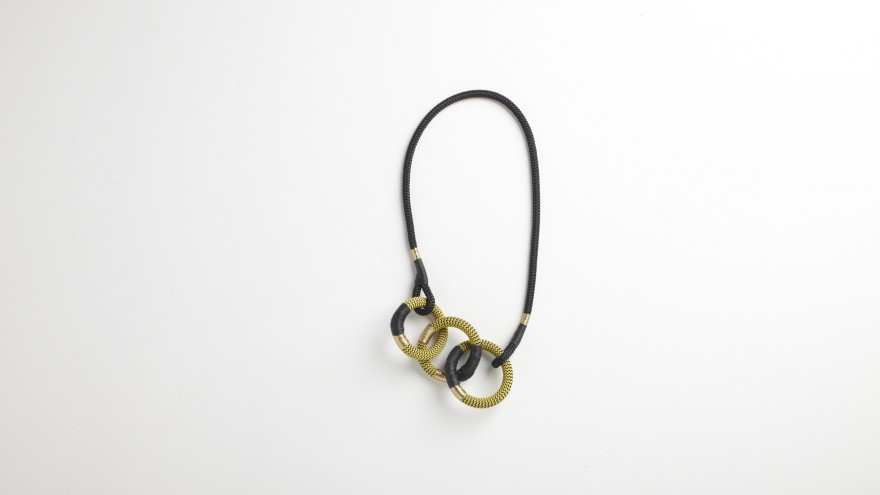 Dynamic Cirque necklace from Pichulik's 2014 Spring/Summer Collection. Image: