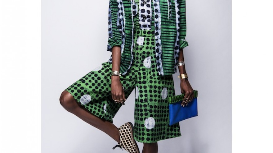 Fashion Rising Spring 2014 Collection by Abrima Erwiah and Rosario Dawson Studio One Eighty Nine, Ghana/US.