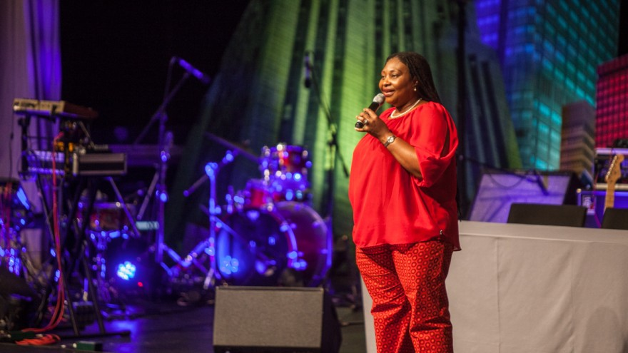 Yvonne Chaka Chaka for Goodbye Malaria