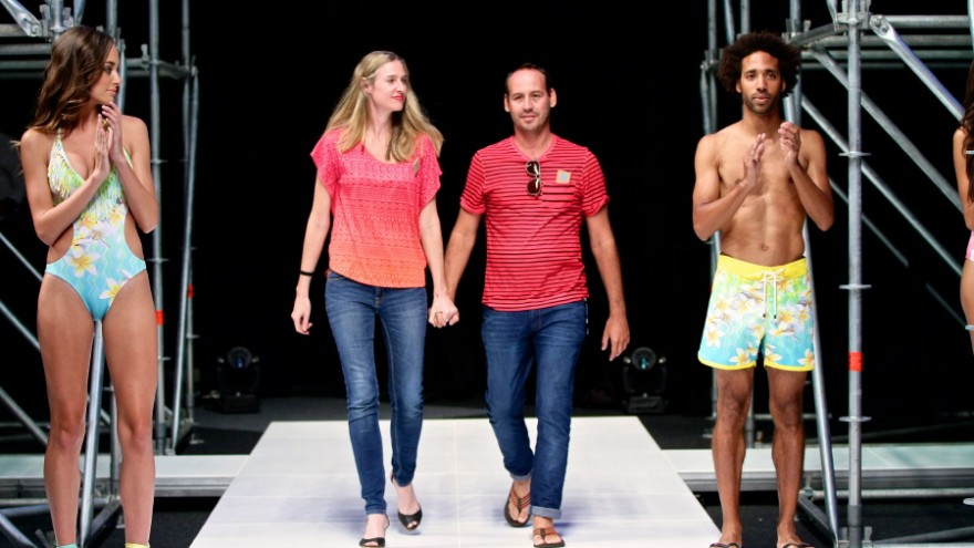 Tropicale Do Sul swimwear collection by Dax Martin for Design Indaba Expo 2014.