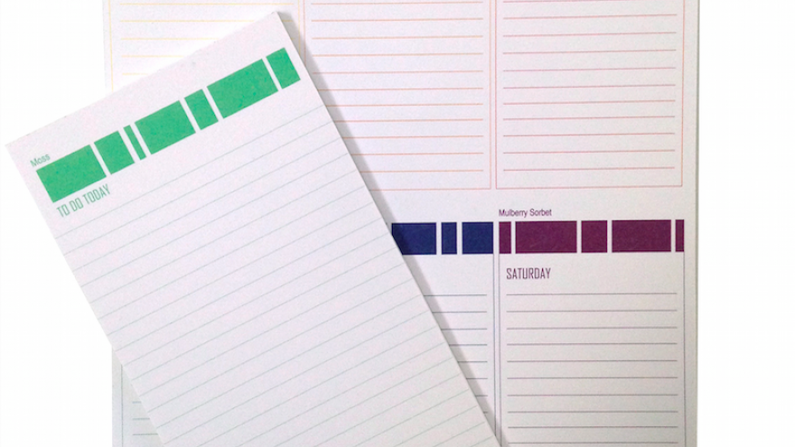 Schwarzi notepad collection.