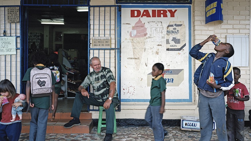 """In """"Legacy of the Mine"""" South African photographer Ilan Godfrey surfaces countless stories of personal suffering and the legacy of 'the mine' is revealed. Image: Ilan Godfrey."""
