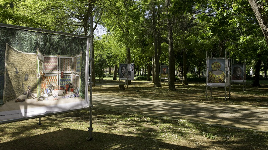 The exhibition will be on show in The Paddocks at the Company's Gardens in Cape Town until 17 October 2014.