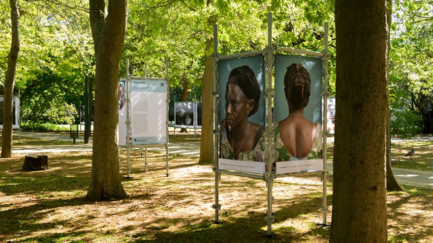The POPCAP exhibition is shown in public spaces across the globe and has already travelled to Dublin, Switzerland and Nigeria.
