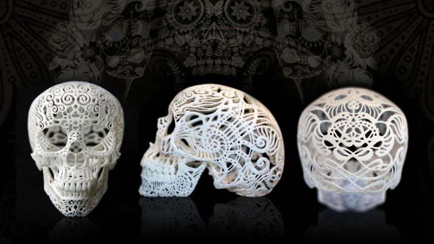 Cranium Filigree by Joshua Harker.
