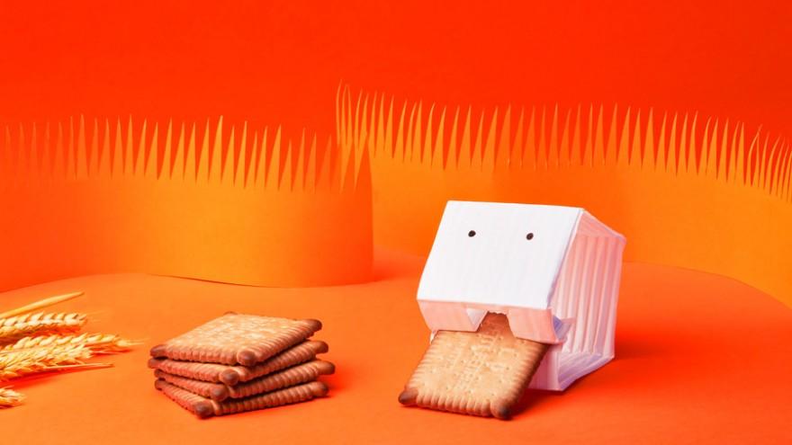 Le Véritable Petit Beurre packaging by Matali Crasset.