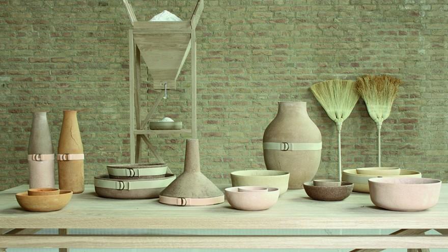 """Autarchy"" installation by Studio Formafantasma."