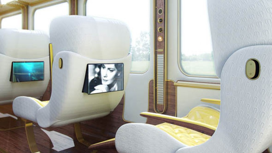"""Christopher Jenner's """"vision of the future of train travel"""""""