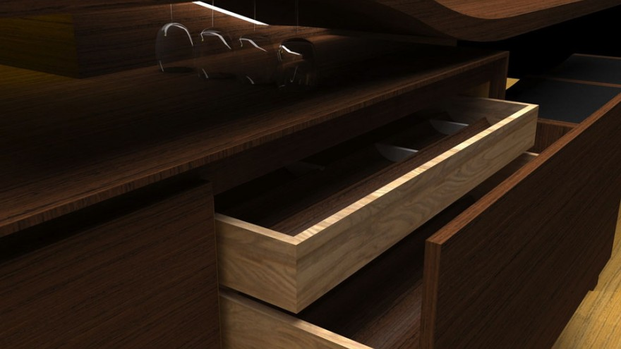 Andy de Klerk Cabinetworks will exhibit an Escher-inspired kitchen at Design Indaba Expo 2014.