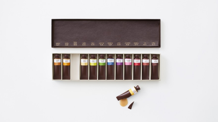 Chocolate-Paint by Nendo.