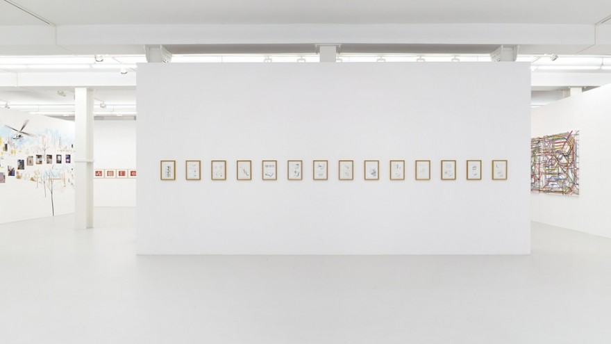 Christoph Niemann's solo exhibition at Galerie Max Hetzler, Berlin.