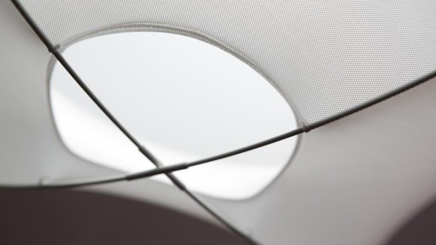 Tenda lamp by Benjamin Hubert.