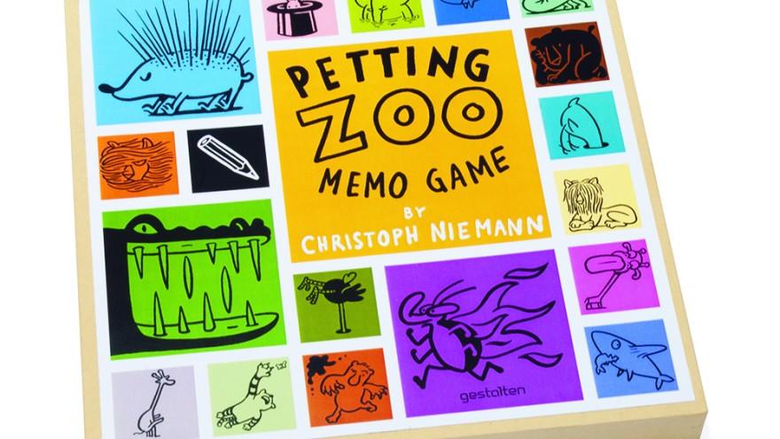 Christoph Niemann —Petting Zoo Memo Game, copyright Gestalten 2013.