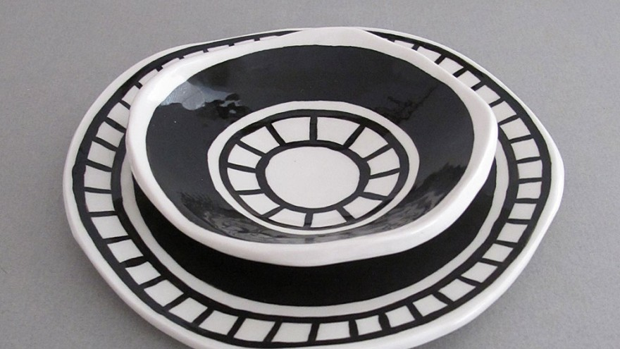 Pattern plates by Alexia Klompje.