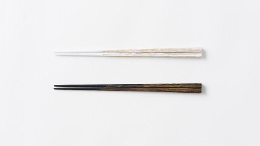 The Udukuri chopsticks by Nendo. Image: Akihiro Yoshida.