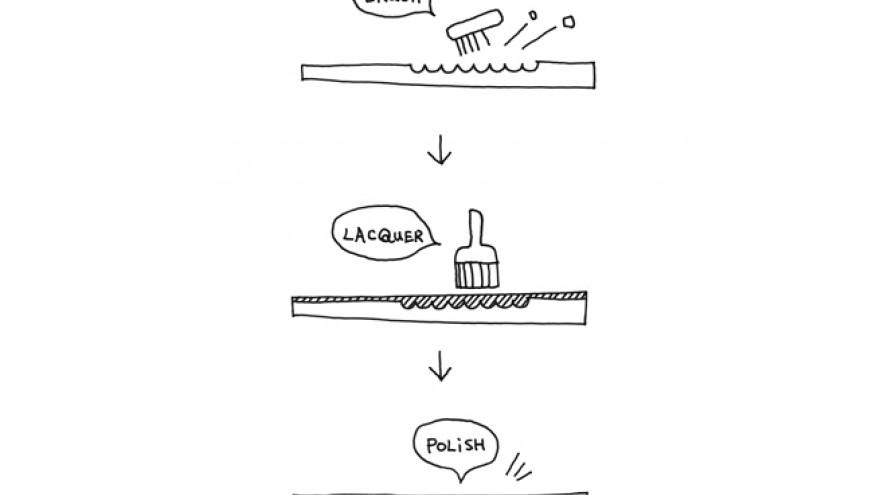Sketch of the Udukuri design by Nendo. Image: Akihiro Yoshida.