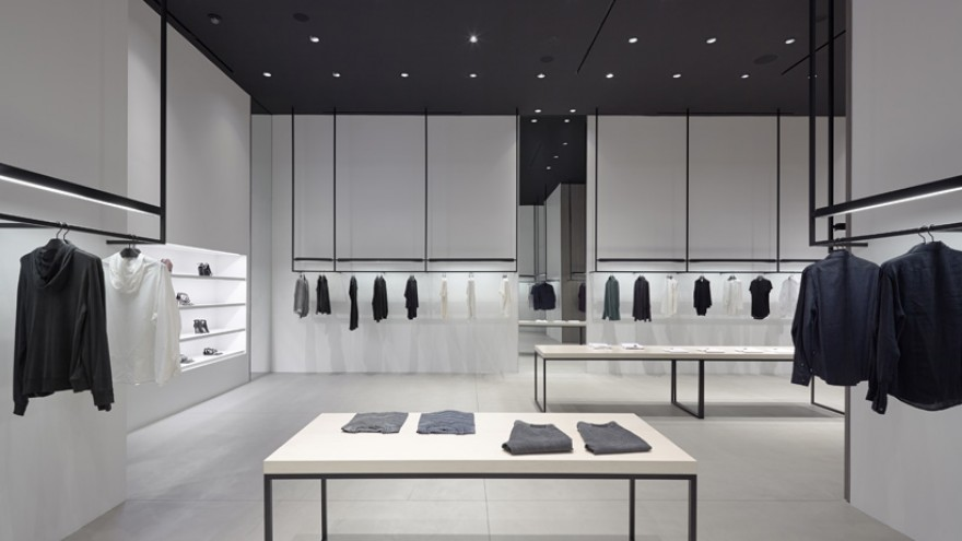 Theory interior design by Nendo.
