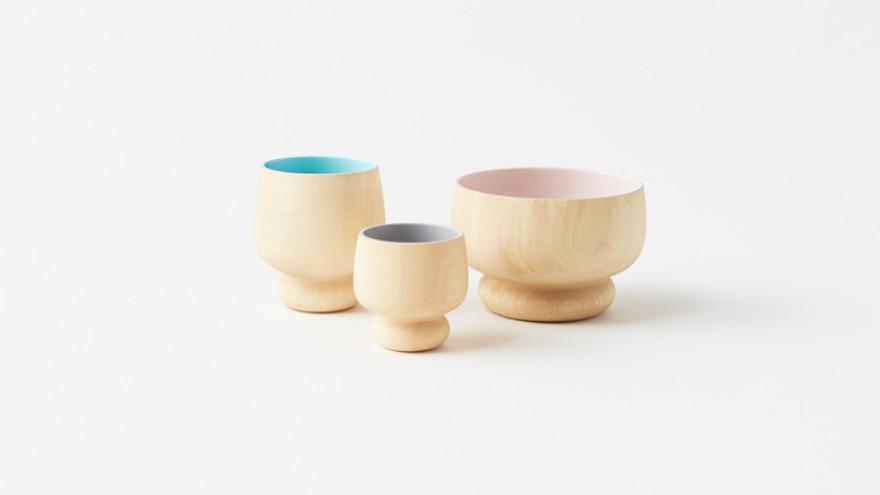 Lump collection by Nendo for Urushi Kobo Oshima. Image: Akihiro Yoshida.