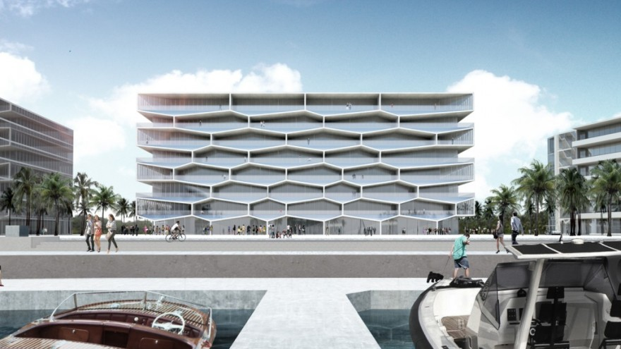 Honeycomb by Bjarke Ingels.