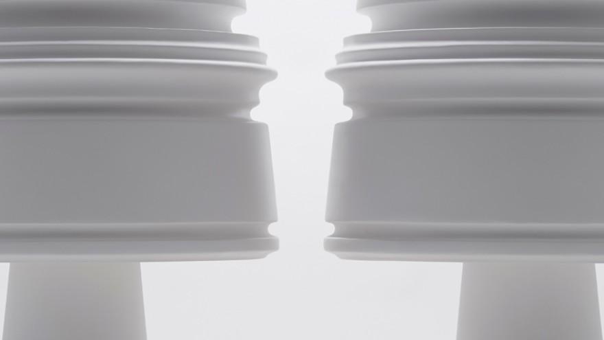 Eigruob table lamp by Nendo for Kartell. Image: Akihiro Yoshida.