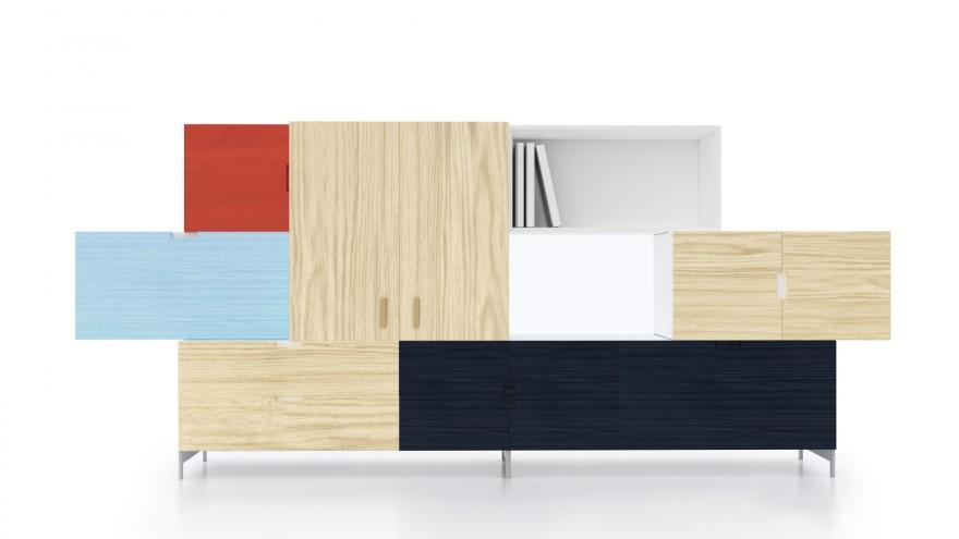 Tetris storage unit by Front.