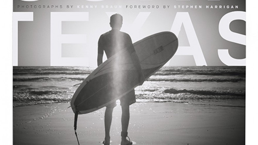 Surf Texas cover and layout design by DJ Stout.