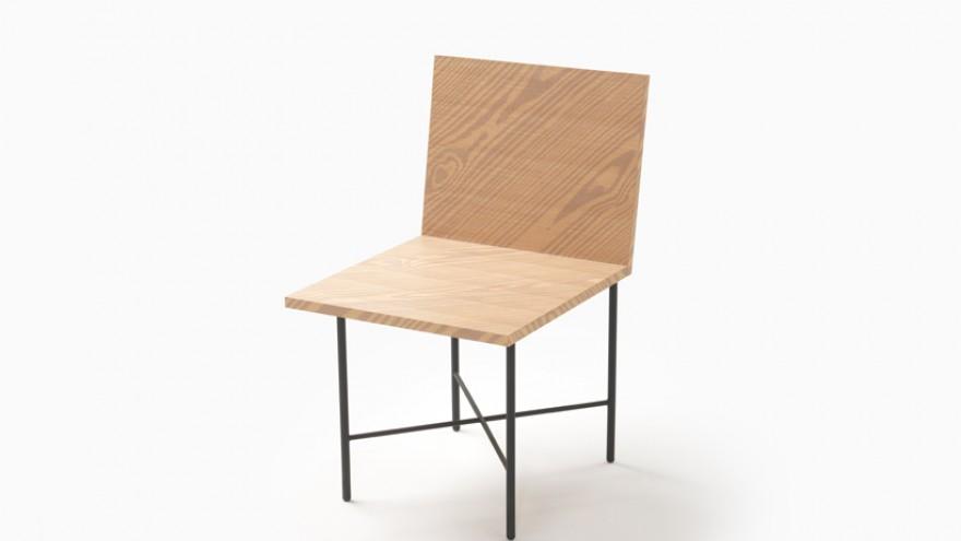 Print Chair by Nendo.