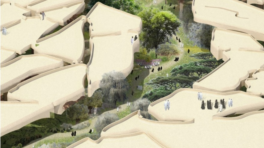 Al Fayah Park by Thomas Heatherwick.