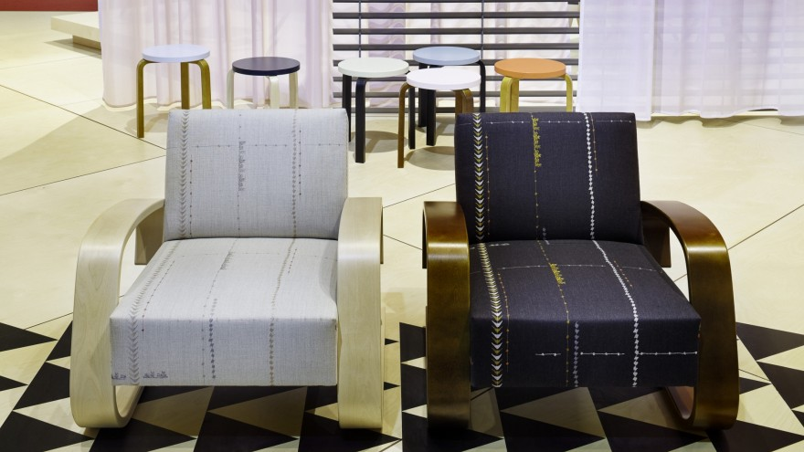 400 armchair by Hella Jongerius for Artek.