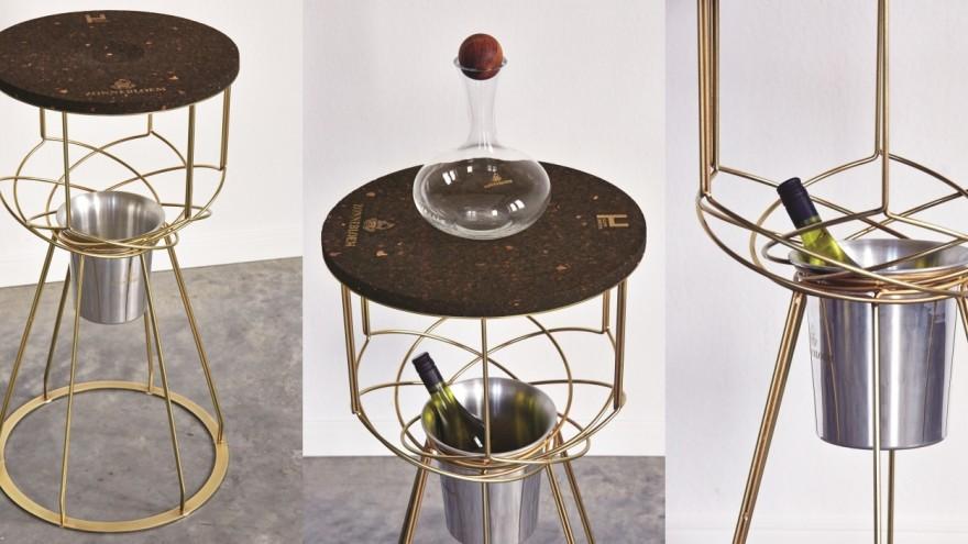 Zonnebloem Wine Serving Table by Haldane Martin. Image: Jan Verboom.