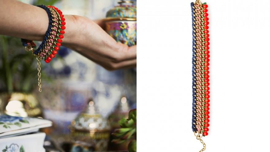 A bracelet from Henriette Botha's The Fall collection. Image: Henriette Botha.