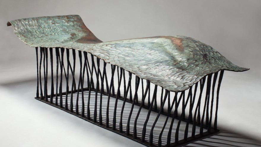 Chaise Muse by Conrad Hicks. Image: Southern Guild.