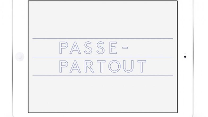 Passe-Partout app by Pentagram's Abbott Miller.