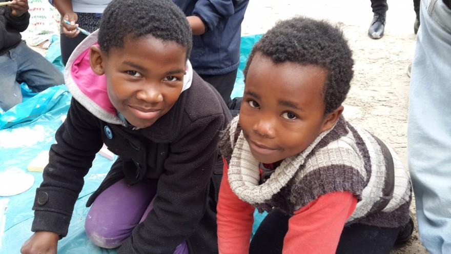 Monwabisi Park on Mandela Day.