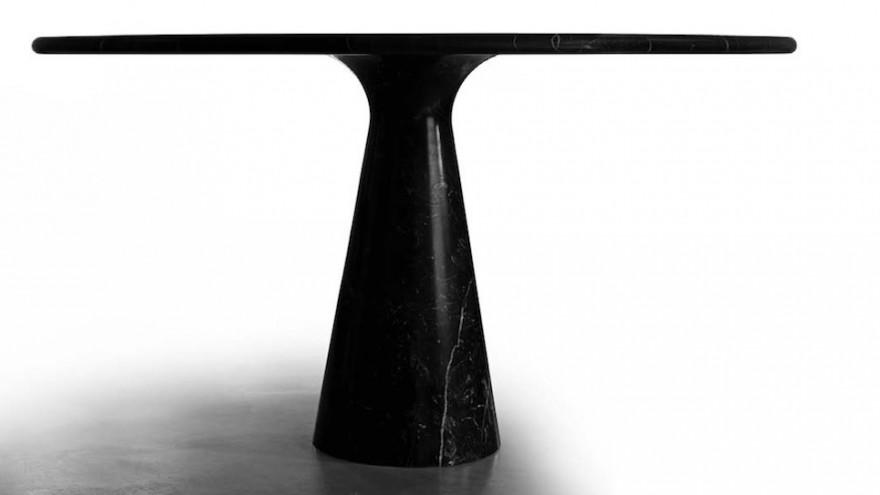 Angelo Mangiarotti's M Dining table for AgapeCasa.