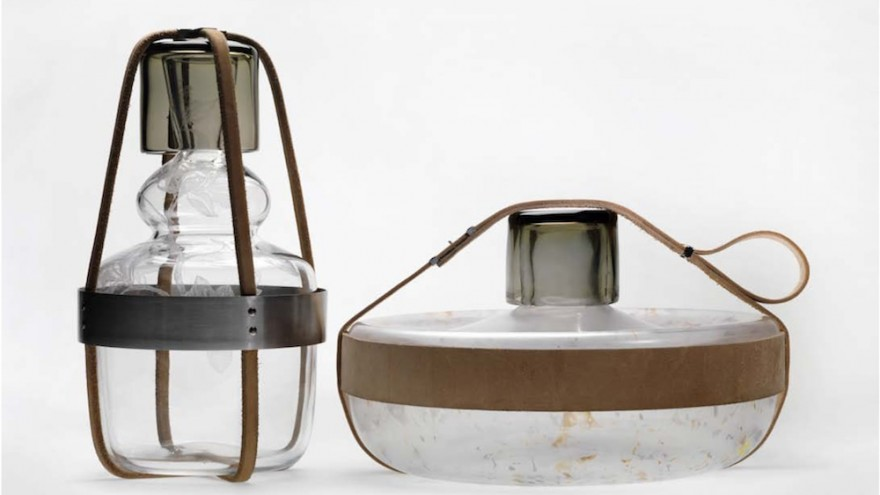 Tadeas Podracky created these stunning glass Finland Vessels that are built for travel, defying their fragile nature.