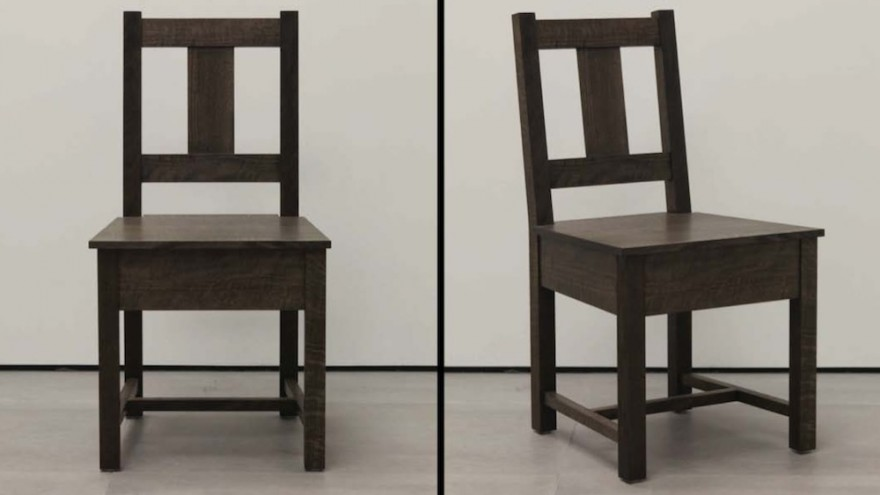 The Slatback Chair has an almost archetypal appeal, it's proportions and lines draw the eye on a preset course.