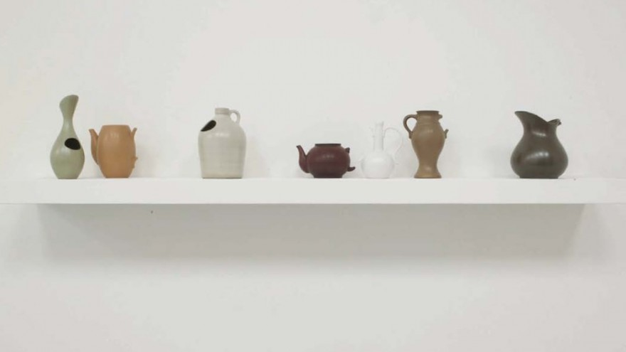 In Vases About Language and Redemption, iconic shapes are modified to contradict their original intentions.