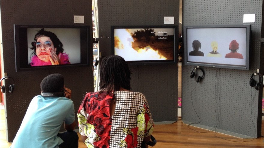 "Part of the exhibition ""Digital Africa: The Future is Now"" at the Africa Utopia festival, London's Southbank Centre."