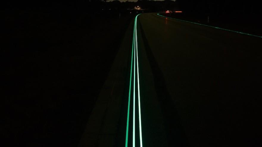 Smart Highway by Daan Roosegaarde.