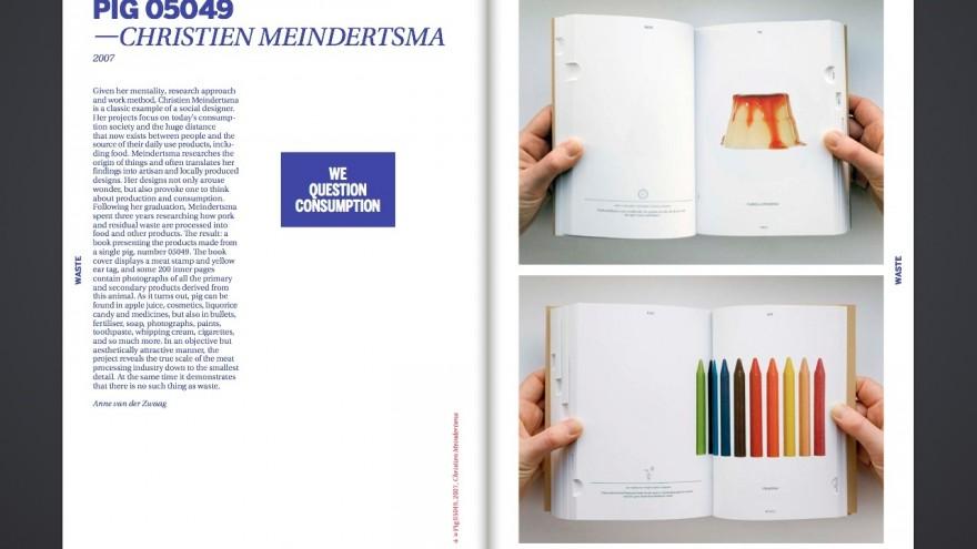 Pig 05049 by Dutch designer Christien Meindertsma.