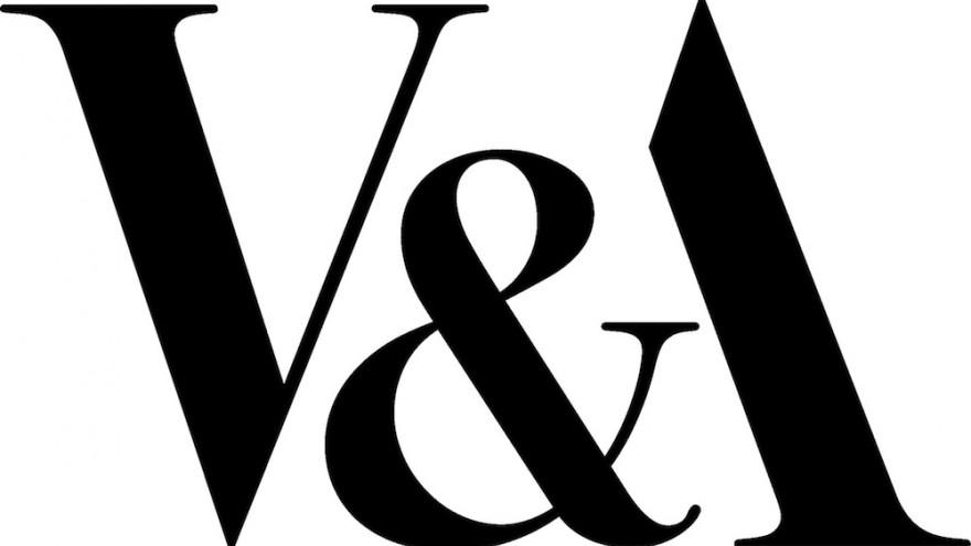 V&A logo designed by Alan Fletcher.