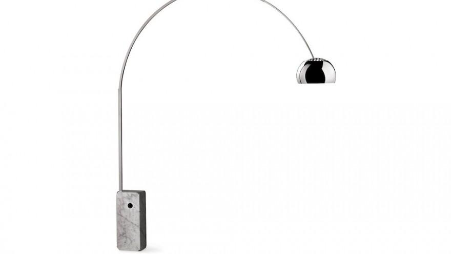 Arco Lamp designed by Achille Castiglioni.