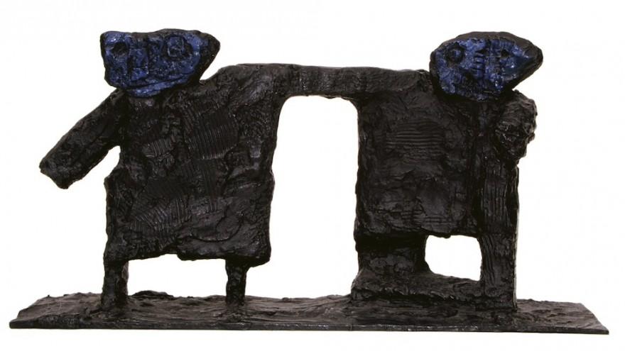"""Into Tomorrow"" sculpture by Paul du Toit"
